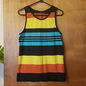 Micros Other - Micros Colorful Striped Tank Top