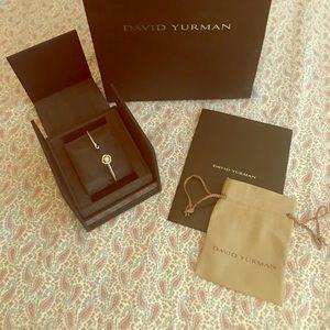 David Yurman Jewelry - David Yurman Infinity Bracelet with Diamonds