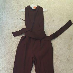 cameo Pants - Halter jumpsuit