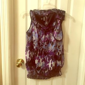 Amy Byer Tops - Adorable purple blouse