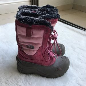 The North Face Other - The North Face Girls Snow Boots size 13