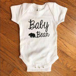 Adorable Baby Bear Onesie