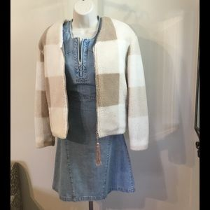 Adam Lippes for Target Jackets & Blazers - NWOT Limited Edition Cropped Plaid Coat