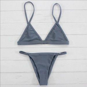 triangl swimwear Other - BOUTIQUE - gray simple and cheeky bottom bikini