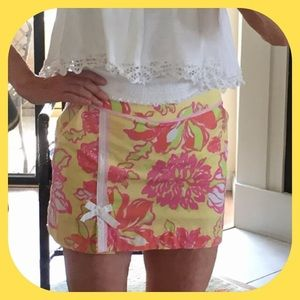 Lilly Pulitzer Pants - 🌞💐 Lilly Pulitzer Floral Skort EUC