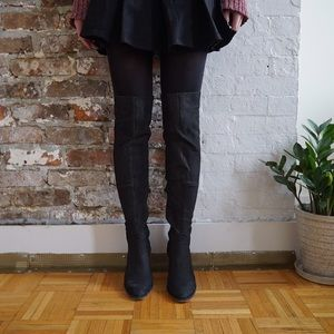 Jeffrey Campbell leather over the knee boots