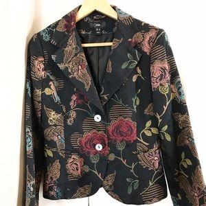 H&M Jackets & Blazers - Floral Blazer