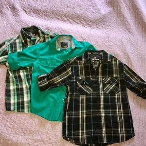 Airwalk Other - Bundle of four boys button down shirts