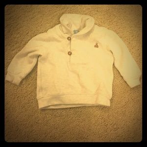 Baby gap cream pull over sweater 6-12months