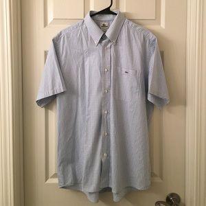 Izod Other - Mens IZOD LACOSTE blue check Button down Shirt L