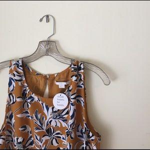 c & e Dresses & Skirts - Fun Golden Dress with Flare Skirt