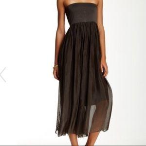 🍃💕Pure Italian Silk Convertible Skirt Dress