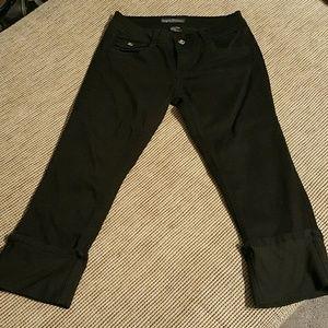 Angels Pants - Angels Capris Black size 5 womens