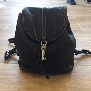 Coach Handbags - Coach vintage leather mini drawstring backpack