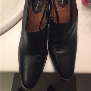 Zara booties size 6  1/2 black