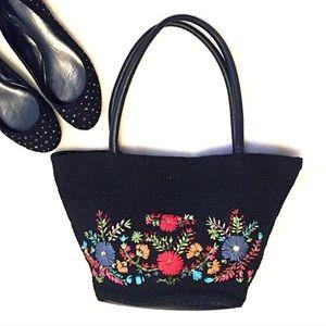 St. John's Bay Handbags - ❣BOGO 1/2 off❣🆕Floral cloth tote bag