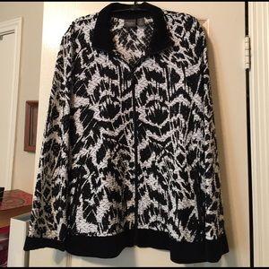 Chico's Jackets & Blazers - Brand new Chicos Travelers black & white jacket