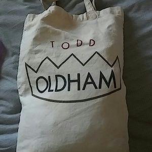 Todd Oldham Handbags - Todd Oldham canvas tote
