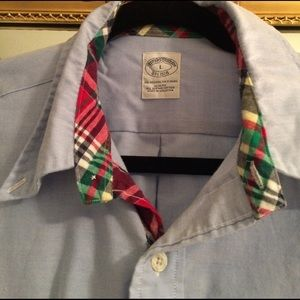 Brooks Brothers Other - Brooks Brothers sport shirt with madras plaid, L.