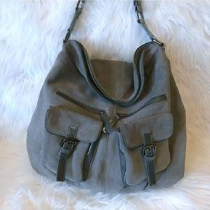 Cole Haan Handbags - 🎉HP🎉Cole Haan Suede Pattern Leather Shoulder Bag