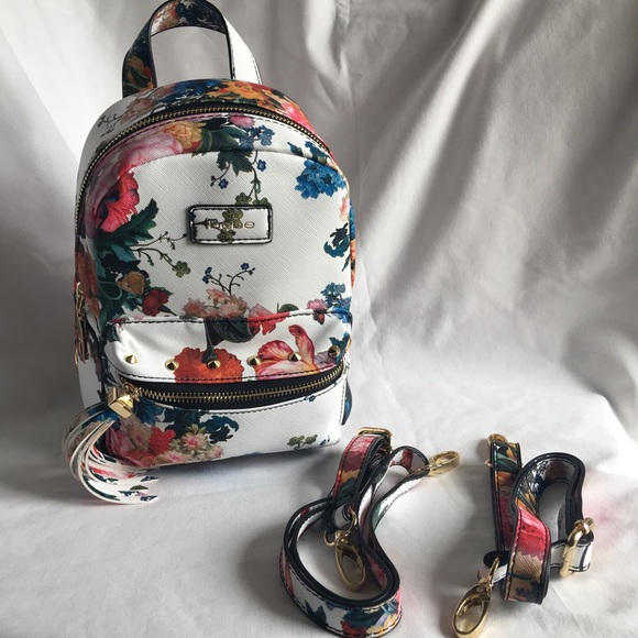 bebe - bebe Mini Floral Backpack-Melissa-White NWOT from Tonya's ...