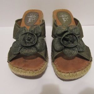 Life Stride Shoes - Green Life Stride Sandals