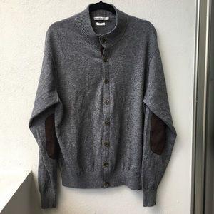 Peter Millar Other - Peter Millar Men's Gray Cardigan Sweater size XL