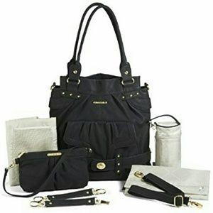 Timi & Leslie  Handbags - Timi & Leslie Louise Black Diaper Bag
