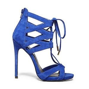 Steve Madden Shoes - 💫🆕 Steve Madden Maiden Blue Suede Heels💫