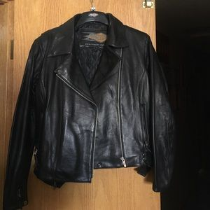 Motorcycle Leather Jacket NWOT