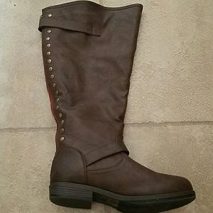 Journee Collection Shoes - extra wide Calf boots
