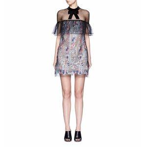 self portrait Dresses & Skirts - Floral lace mini dress