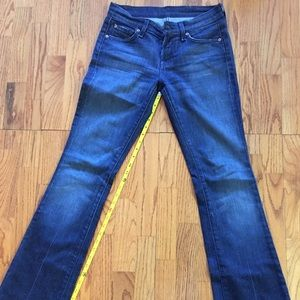 7 for all mankind bootcut size 26 jeans