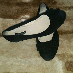 Marina Rinaldi Shoes - Marina Rinaldi flats with bow