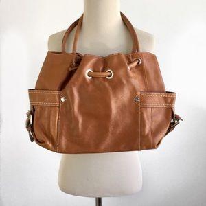 FOSSIL | Tan Leather Handbag NWOT