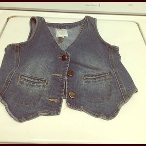 Children's Place Other - Super cute girl jeans jacket vest