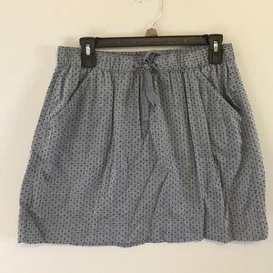 Merona Chambray Skirt, Size Medium