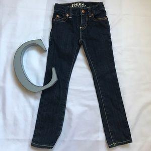 Peek Other - Dark denim skinny jeans.