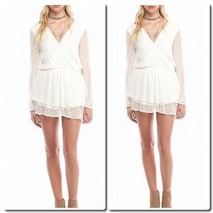 Free People Dresses & Skirts - Free People Daliah Mini Dress in Ivory