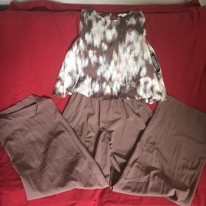 One piece pant outfit
