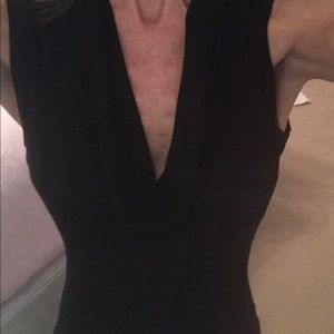 Rampage Tops - Black sleeveless top.
