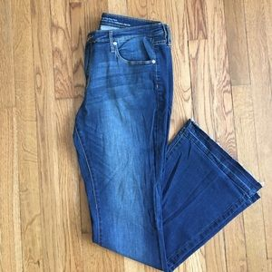 Mossimo Supply Co Denim - Mossimo Denim Mid-Rise Flip Flop Flare Jeans
