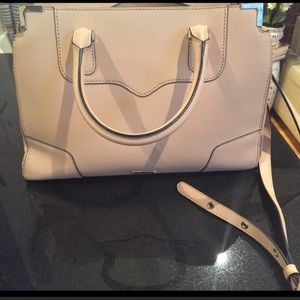 Rebecca Minkoff Handbags - Cream Rebecca Minkoff Bag - barely used!
