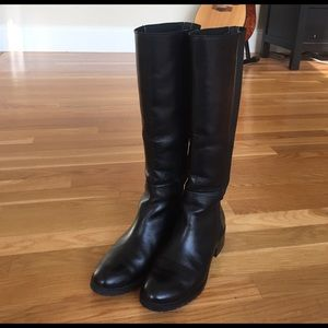 Donald J. Pliner Shoes - Donald J Pliner black boxer boots