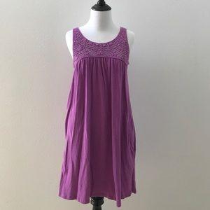 Velvet Dresses & Skirts - Lavender lace top dress