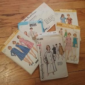 Simplicity Other - SALE🎉Vintage Sewing Patterns set of 6