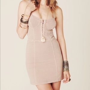 Free People Dress with Corset Style top