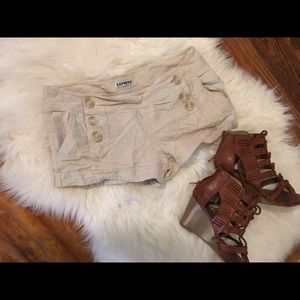 Express Pants - Express Sailor Style Linen Shorts