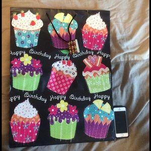 Handbags - Happy Birthday giant gift bag