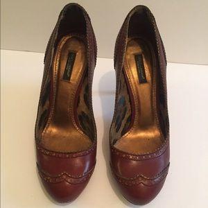 Dolce & Gabbana Brown Pumps Size 38